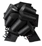 8 inch Wide Black Diamond Ceremonial Pull Bow