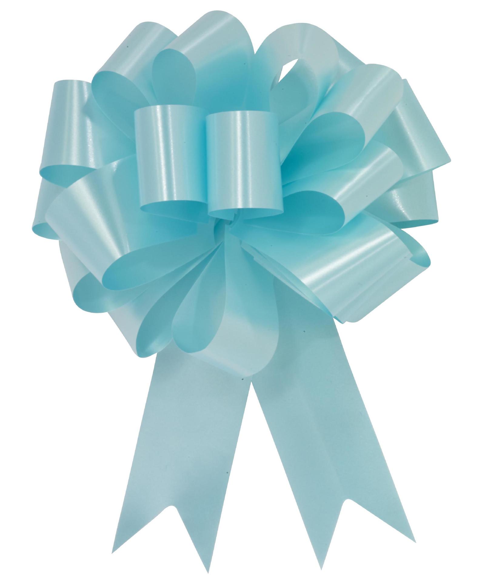 """Picture of 8"""" Aqua Ceremonial Pull Bow"""