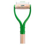 Green Groundbreaking Shovel handle