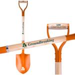 Orange Groundbreaking Shovel direct