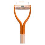 Orange Groundbreaking Shovel handle