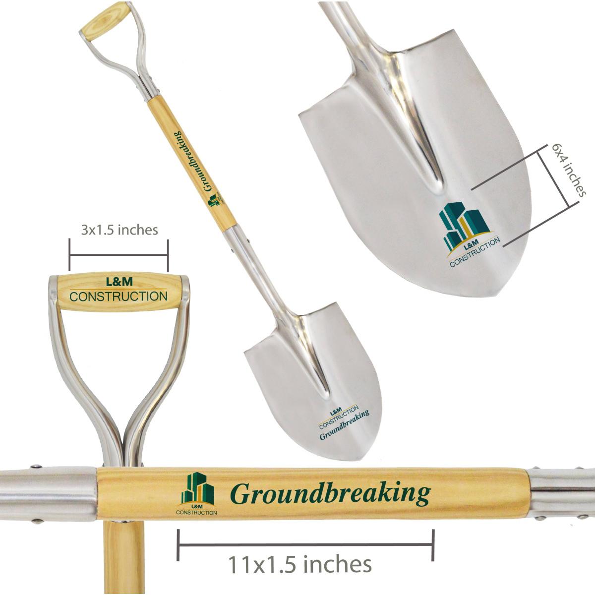 Deluxe-groundbreaking-shovel-customization