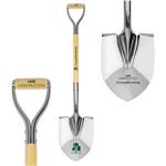 Chrome mirror groundbreaking shovel direct print