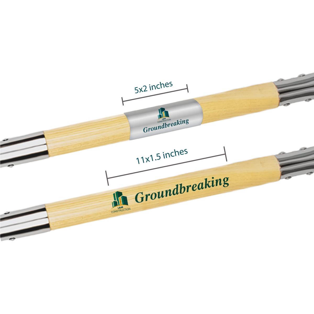 Chrome mirror groundbreaking shovel stem customization